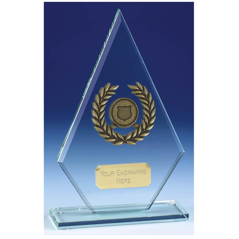 Pointer Jade Glass Award - JC005