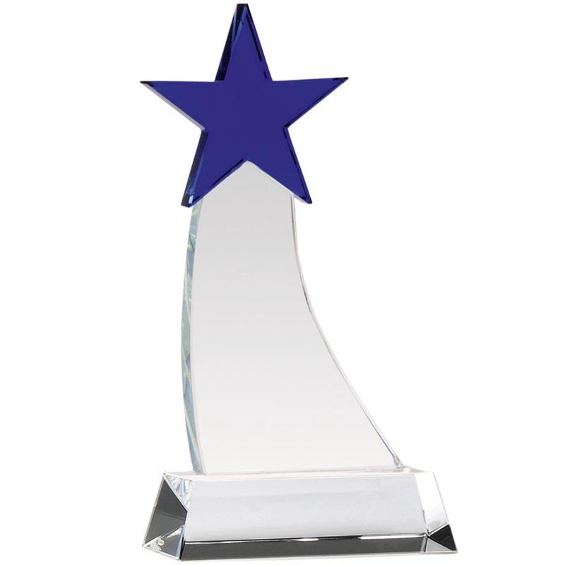Aquarius Star Optical Crystal Award - KK113
