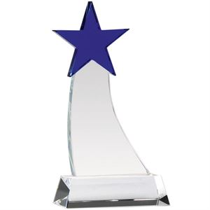 Aquarius Star Optical Crystal Award