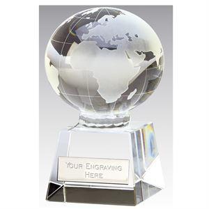 Victory Globe Crystal Award - OK037