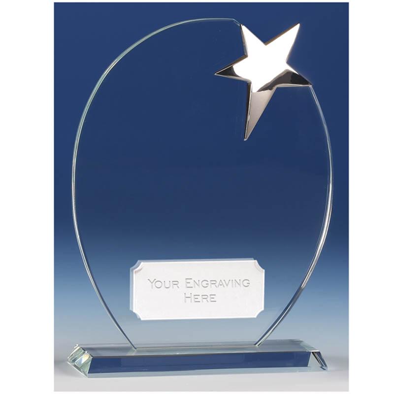 Mission Star Glass Award - KK147