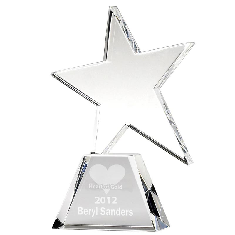 Hope Star Crystal Award - KK007