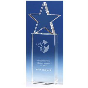 Tower Star Crystal Award