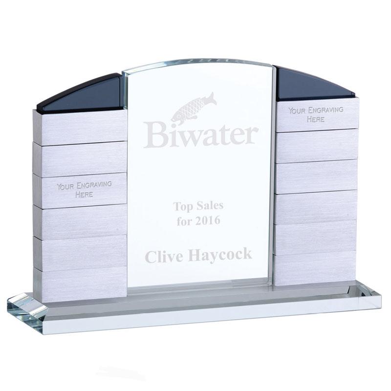 Glitz Arch Crystal Award - KT075