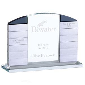 Glitz Arch Crystal Award