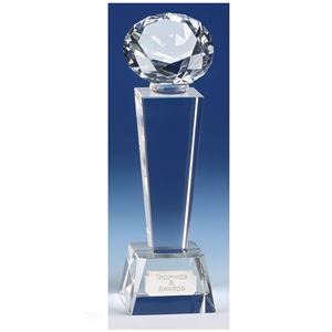 Phoenix Diamond Optical Crystal Award - KK083