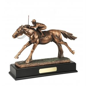 Bronze Plated Horse & Jockey Award