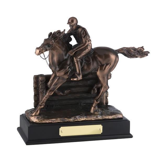 Bronze Plated Horse & Jockey Award - RW19