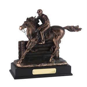 Bronze Plated Horse & Jockey Award