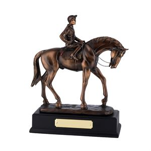 Bronze Plated Horse & Young Jockey Award