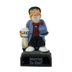 Everyday Heroes Married To Golf Trophy