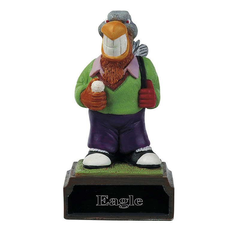 Everyday Heroes Eagle Golf Trophy - H02