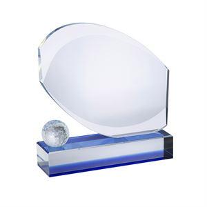 Crystal Golf Club & Ball Award - AC218