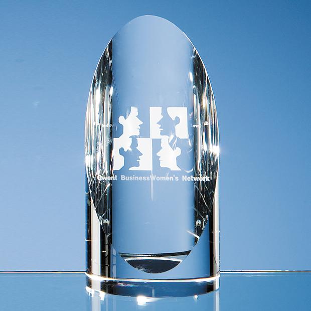 Optical Crystal Cylinder Award - DY18
