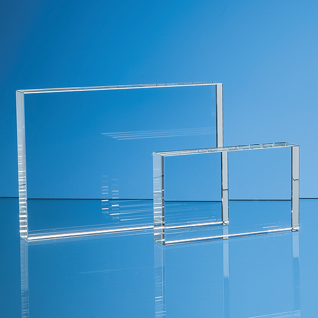 Optical Crystal Rectangle Award - SY5082 & SY5084