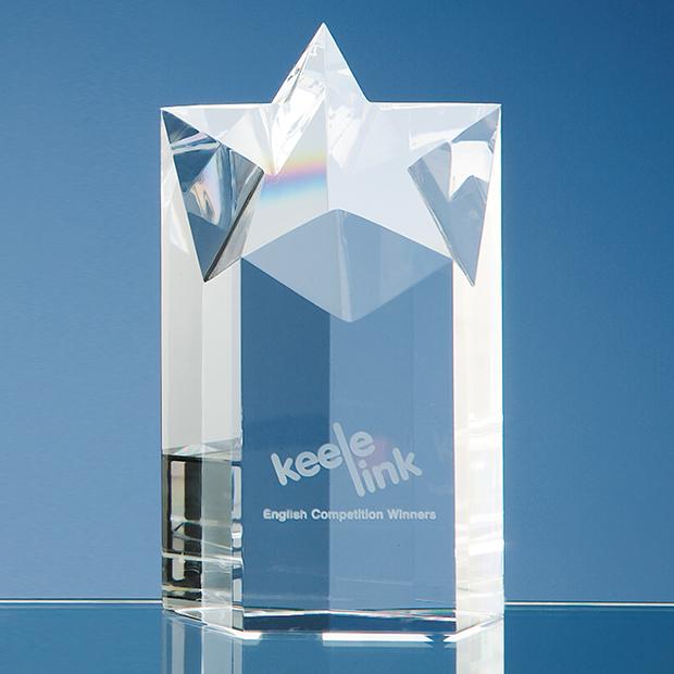 Optical Crystal Star Column Award - SY1009