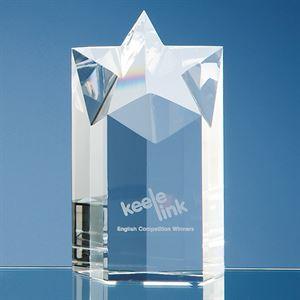 Optical Crystal Star Column Award