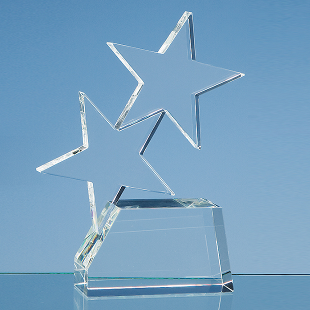 Optical Crystal Double Rising Star Award - SY2073
