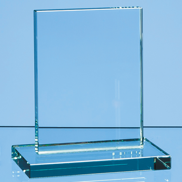 Jade Glass Rectangle Award - R34