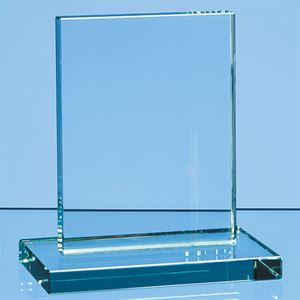 Jade Glass Rectangle Award