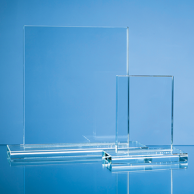 Clear Glass Rectangle Award - SY4074