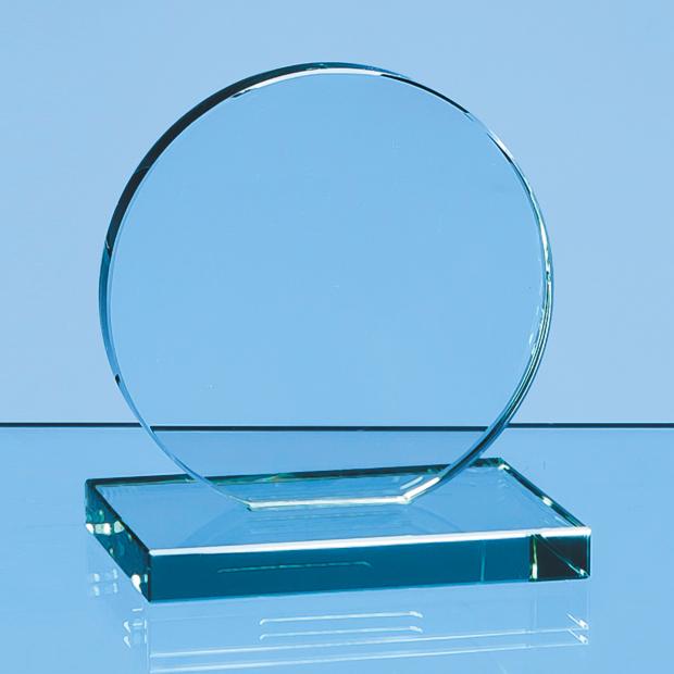 Jade Glass Circle Award - VGJ47012