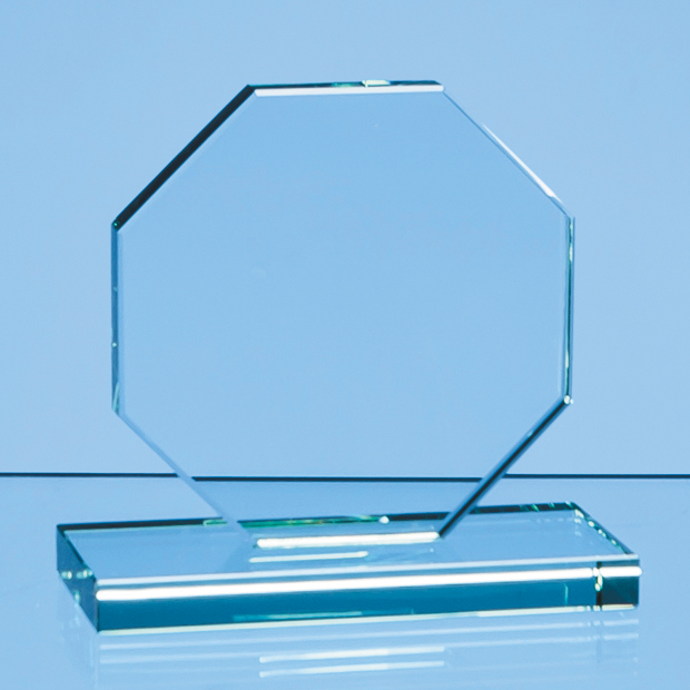 Jade Glass Octagon Award - DY33