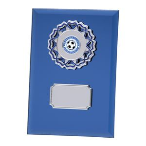 Mirage Multisport Mirror Glass Plaque Blue - CR4533