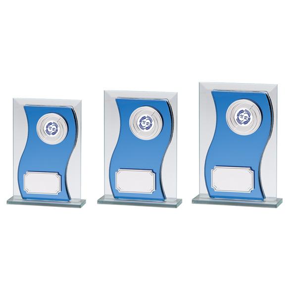 Azzuri Wave Mirror Glass Award 3 sizes - CR2194