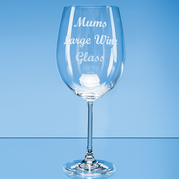 Grande Vino Full Bottle of Wine Glass - SL533