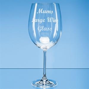 Grande Vino Full Bottle of Wine Glass