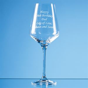Infinity Red Wine Glass