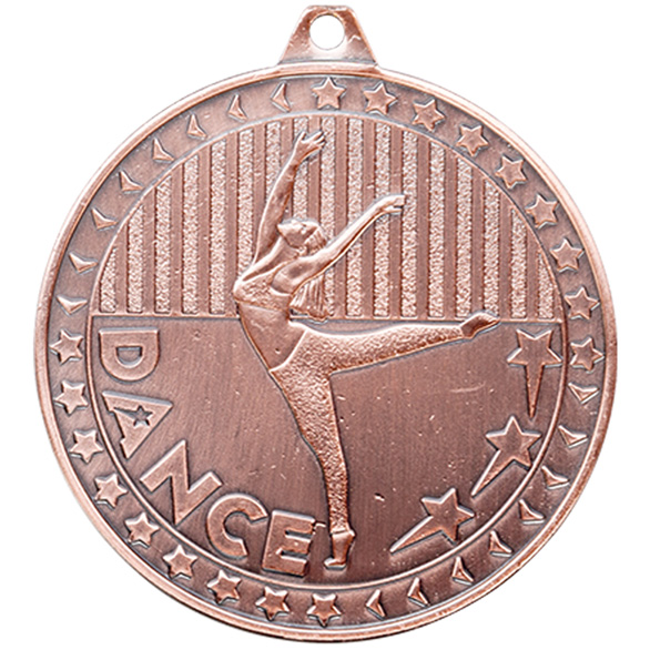 Bronze Discovery Dance Medal (size: 50mm) -  MM17127B