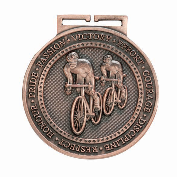 Bronze Olympia Cycling Medal (size: 60mm) - MM16054B