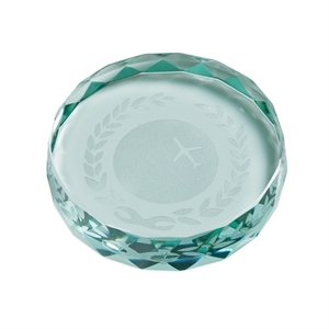 Saturn Jade Glass Paperweight - CR16221