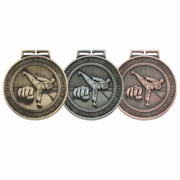 Olympia Karate Medal (size: 70mm) - MM17016