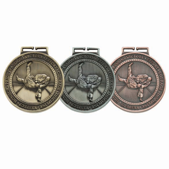 Olympia Judo Medal (size: 70mm) - MM17016