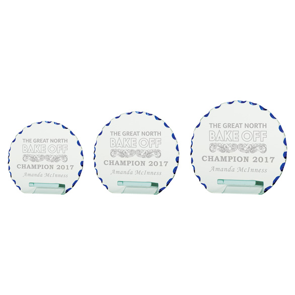 Quantum Jade Glass Award 3 sizes - CR2266