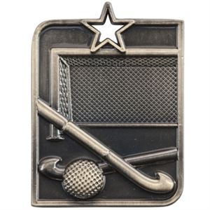 Gold Centurion Star Hockey Medal (size: 50mm) - MM15014G