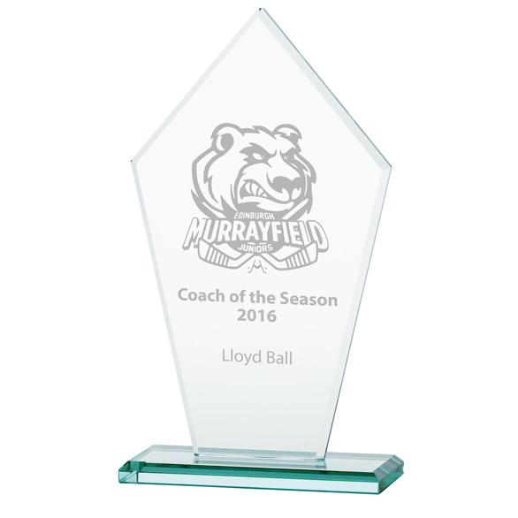 Jade Victory Crystal Award - CR16134