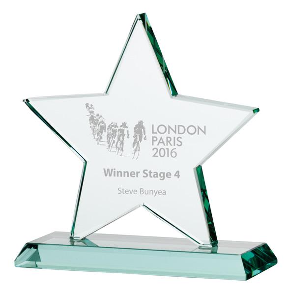 Jade Galaxy Star Crystal Award - CR16135