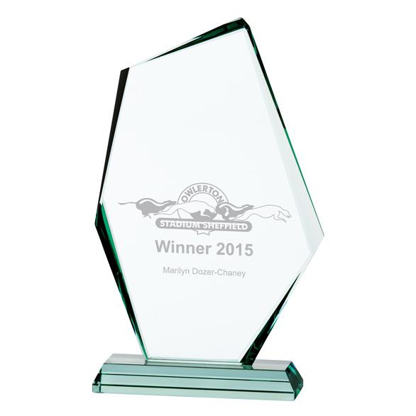 Jade Discovery Crystal Award - CR16140