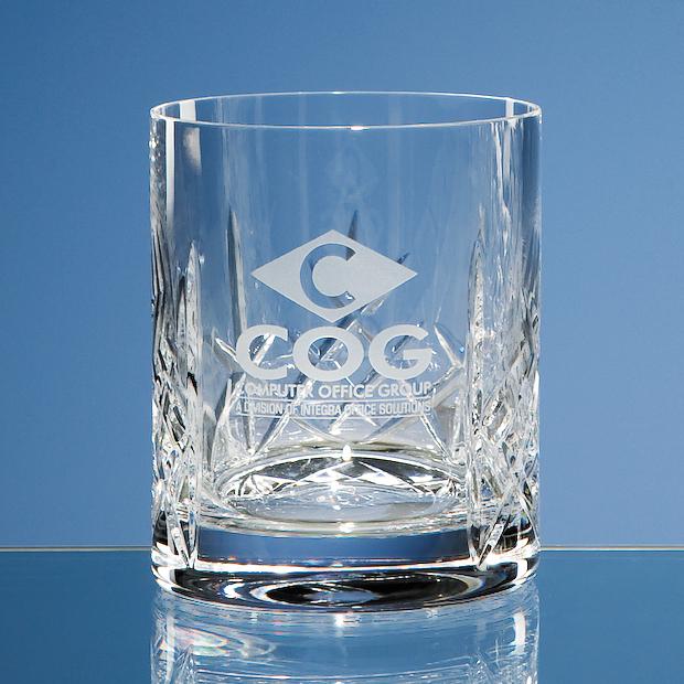 Flamenco Crystalite Panel Whiskey Tumbler - HM64