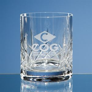 Flamenco Crystalite Panel Whisky Tumbler