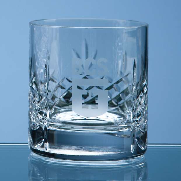 Mayfair Crystalite Panel Whisky Tumbler - SL115
