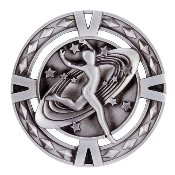 Silver V-Tech Dancing Medal (size: 60mm) - MM1031S
