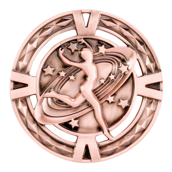 Bronze V-Tech Dancing Medal (size: 60mm) - MM1031B