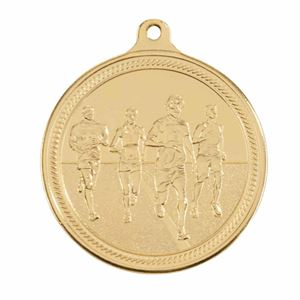 Gold Endurance Running Medal (size: 50mm) - MM16051G