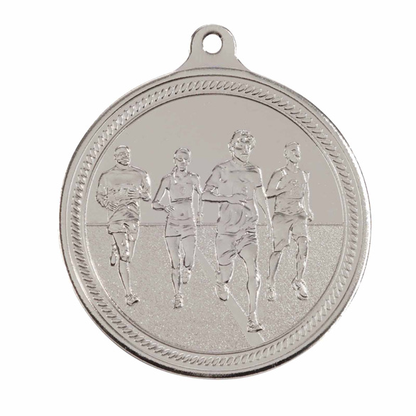 Silver Endurance Running Medal (size: 50mm) - MM16051S