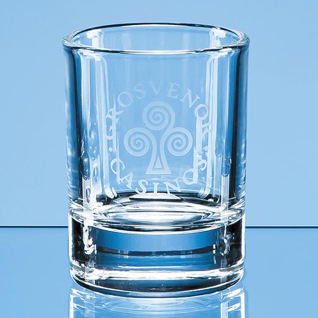 Round Hot Shot Tot Glass - BG2